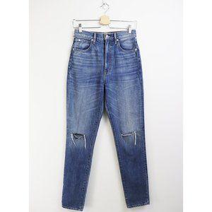 NWT SLVRLAKE Beatnik Distressed Slim Straight Jean